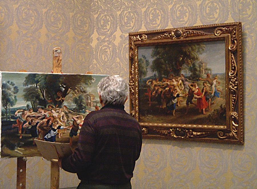 Academia de bellas artes de santa cecilia el museo del - Donde estudiar pintura ...