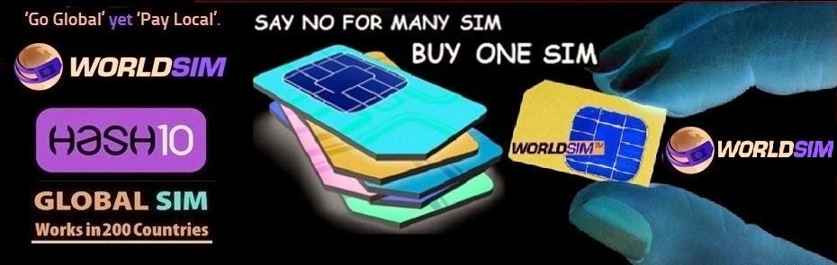 WORLD SIM - INTERNATIONAL SIM CARD - FREE INTERNATIONAL ROAMING -ONE WORLD ONE SIM - MATRIX SIM CARD