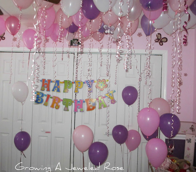 room of balloons