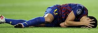 Una lesión aleja a Afellay del resto de temporada