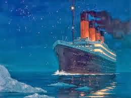 Titanic, Kapal Laut