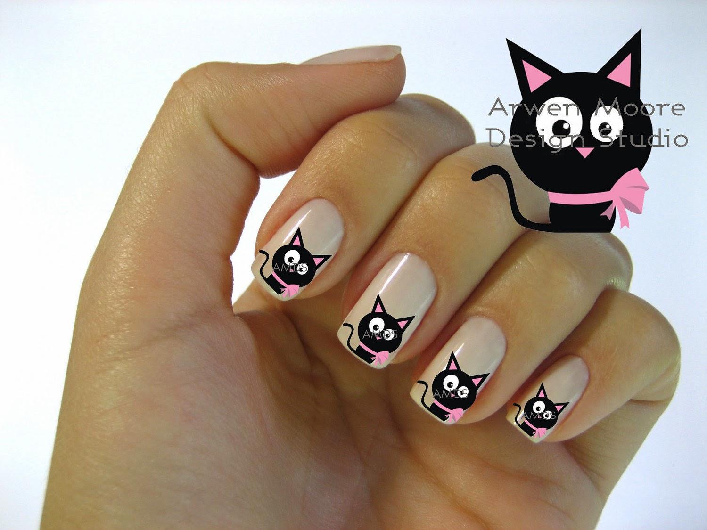 Decorado gatos para u as sencillas bonitas imagenes for Decorado de unas facil y sencillo
