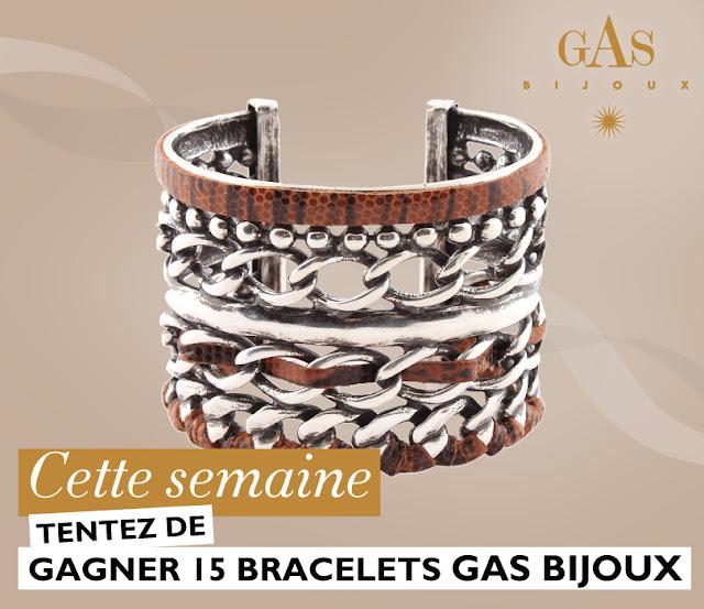 15 bracelets Gas