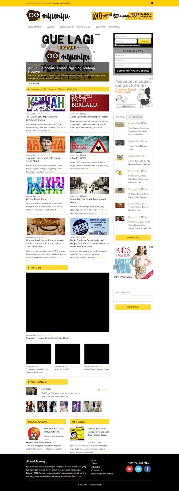 Nyunyu Website