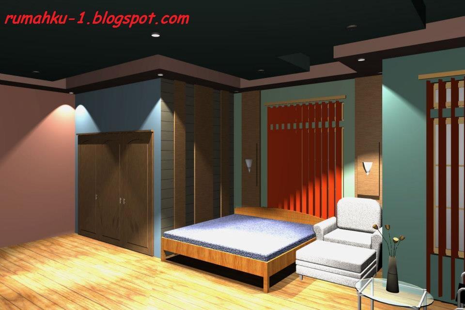 rumahku 1 dekorasi desain kamar tidur minimalis type 230