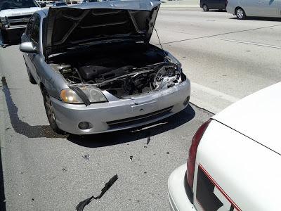 Tim Fasano Car Wreck