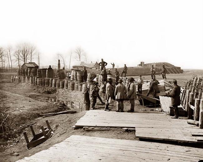 Fortificaciones confederadas en Virginia