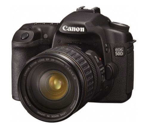 Canon EOS 50D 15.1 MP Digital SLR Camera Kit for Sale