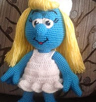 http://www.ravelry.com/patterns/library/sweet-smurfette