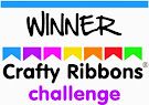 WINNER AT CRAFTY RIBBONS.