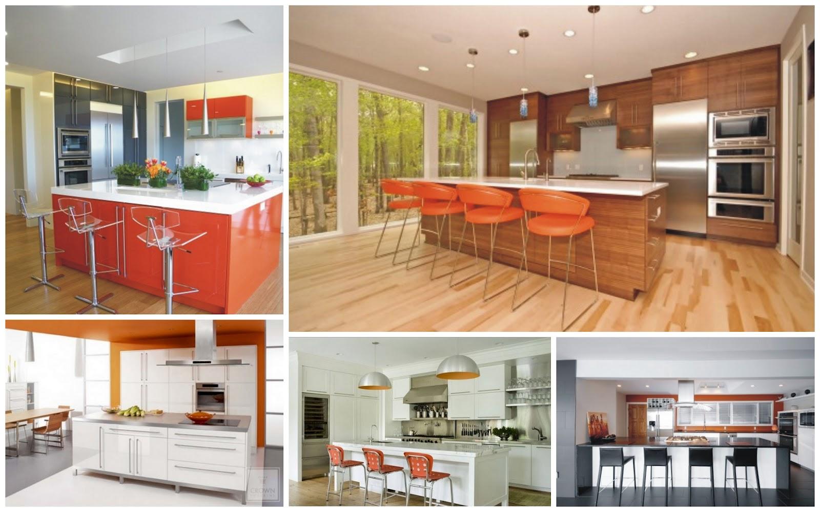 ; decoração de cozinhas; cozinhas modernas; cor; cores; home decor #A93A22 1600 1000