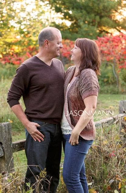 Door County Family Portraits, Fall Couple's Portraits