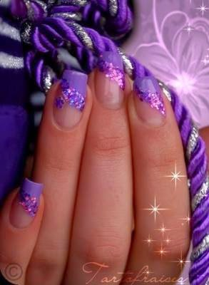 simple purple nail art designs  fashion's feel  tips and