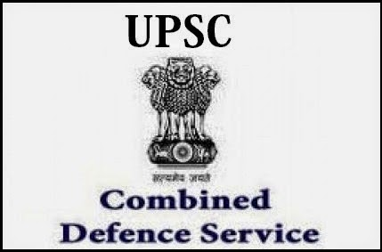 UPSC Combined Defence Services Examination (CDS) 2014
