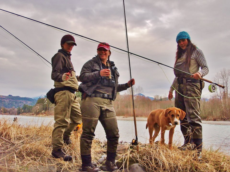 Home waters a fly fishing life angels and dudes for Women s fly fishing gear