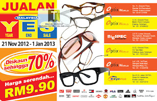 Eyewear Clearance Year End Sale 2012