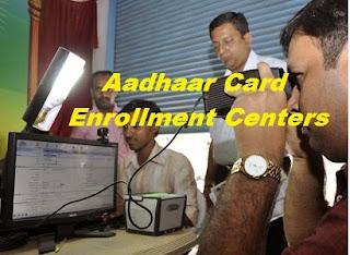 Aadhaar card Enrollment center image