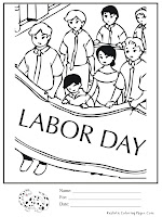 Labor Day Coloring Book