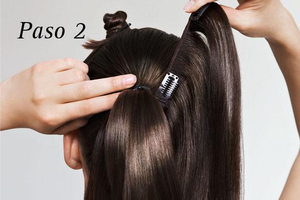 3 Peinados fáciles con extensiones y Cómo colocarlas YouTube - peinados extensiones clip