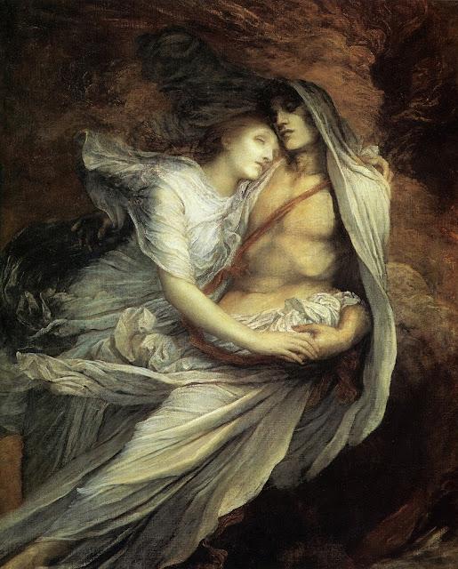 romanticism painting,victorian painting, symbolist art