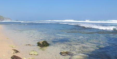 Pantai Gunungkidul Watu Kodok
