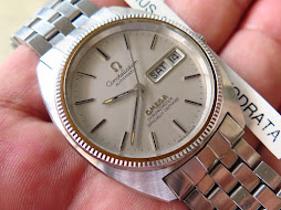 OMEGA CONSTELLATION CHRONOMETER SILVER DIAL C SHAPE - AUTOMATIC CAL 1021