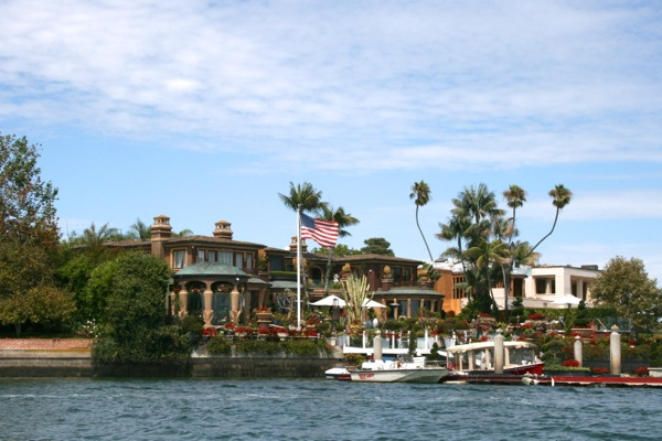 John Wayne waterfront home Newport Beach