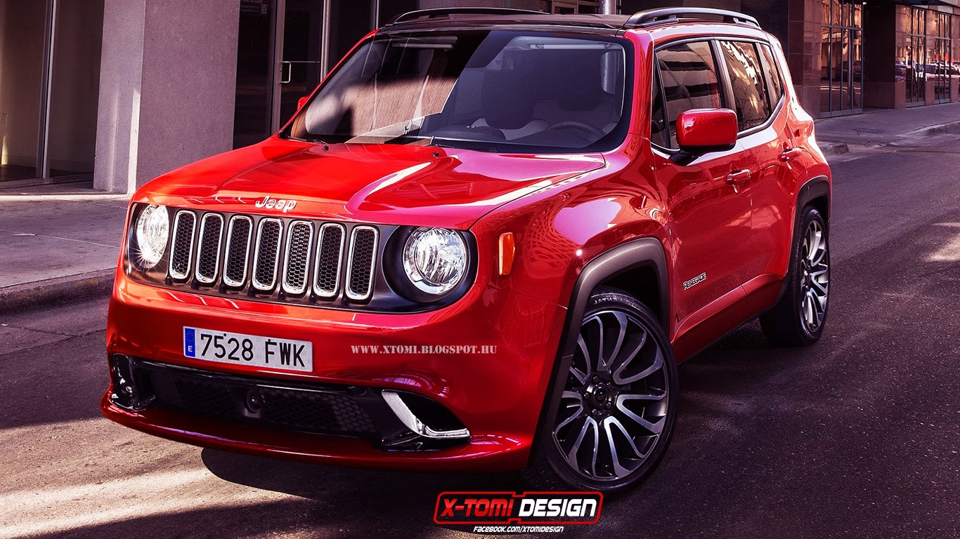 X-Tomi Design: Jeep Renegade SRT8