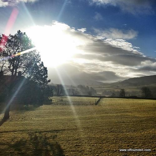 Yorkshire Dales sunshine