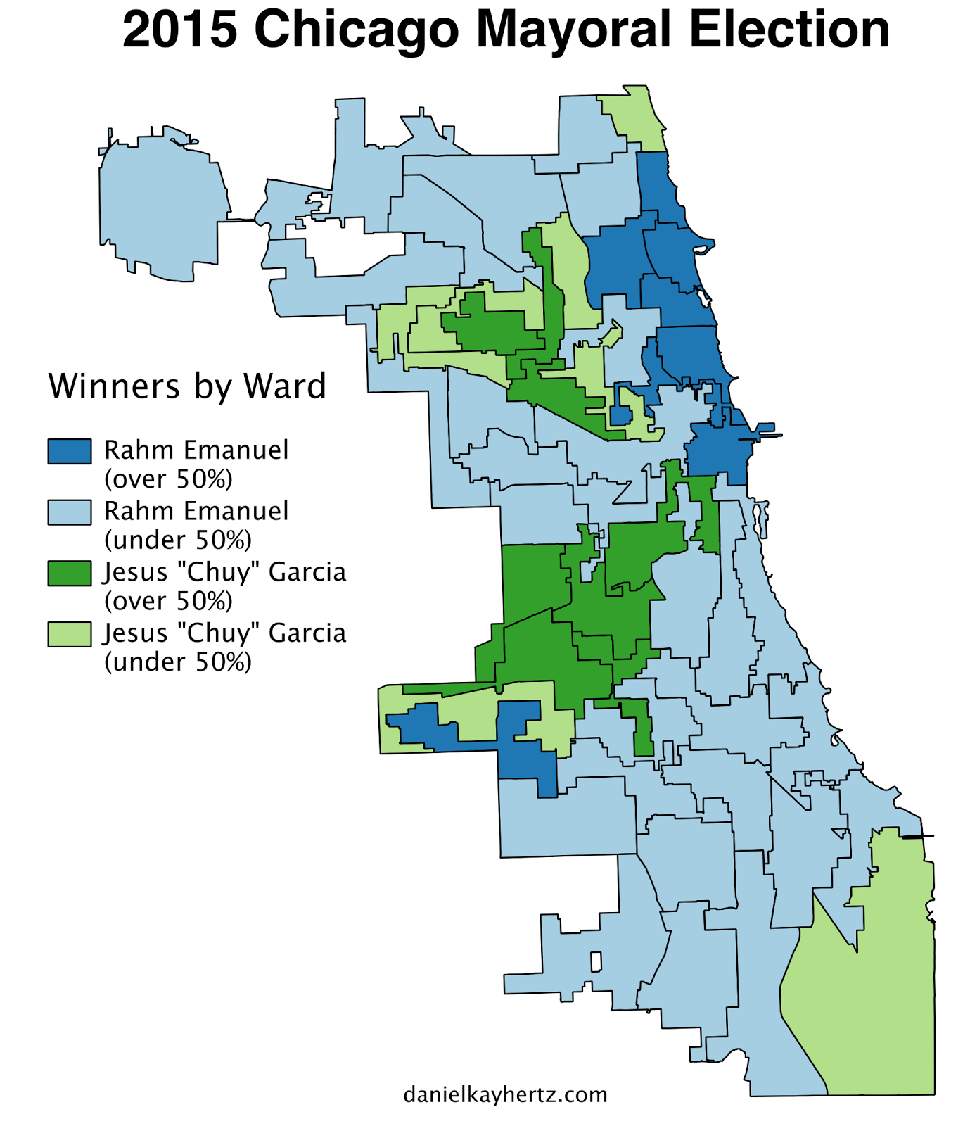 WINNERS BY WARD