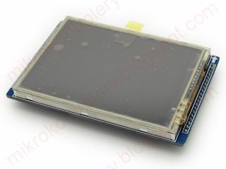 Wyświetlacz LCD HY-28A ze sterownikiem ILI9320 i panelem dotykowym ze sterownikiem XPT2046.