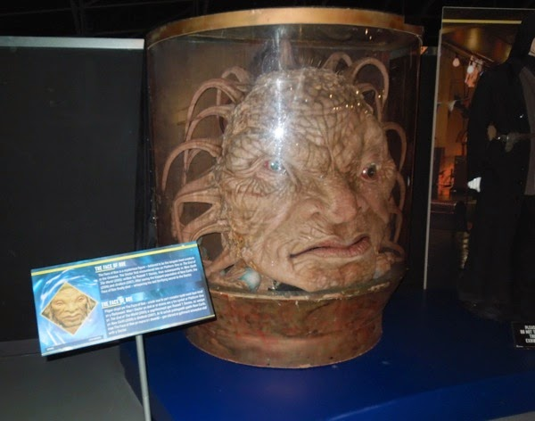 Face of Boe Doctor Who prop