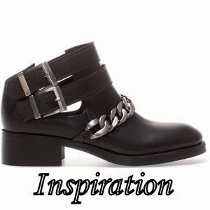 DIY, DIY chain cut boots, zara chain boots