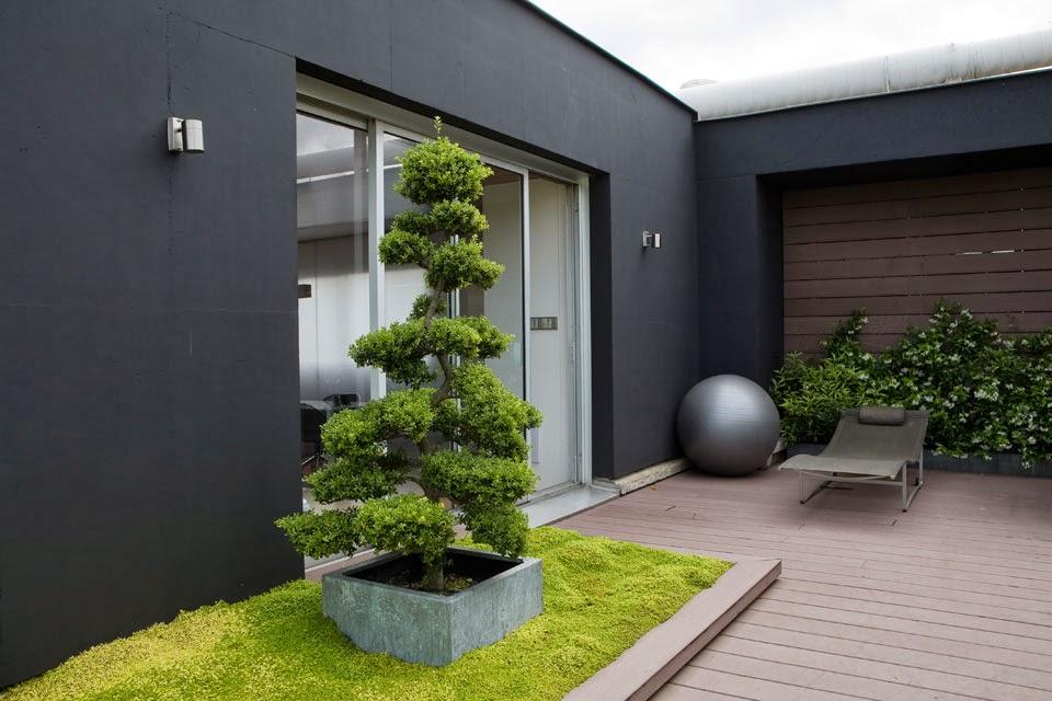 D couvrir l 39 endroit du d cor terrasse contemporaine - Idee terrasse exterieure contemporaine ...