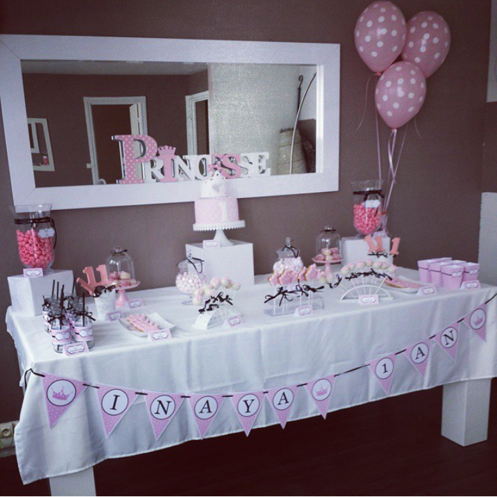Le Candy Bar Kit Anniversaire D Coration Sweet Table