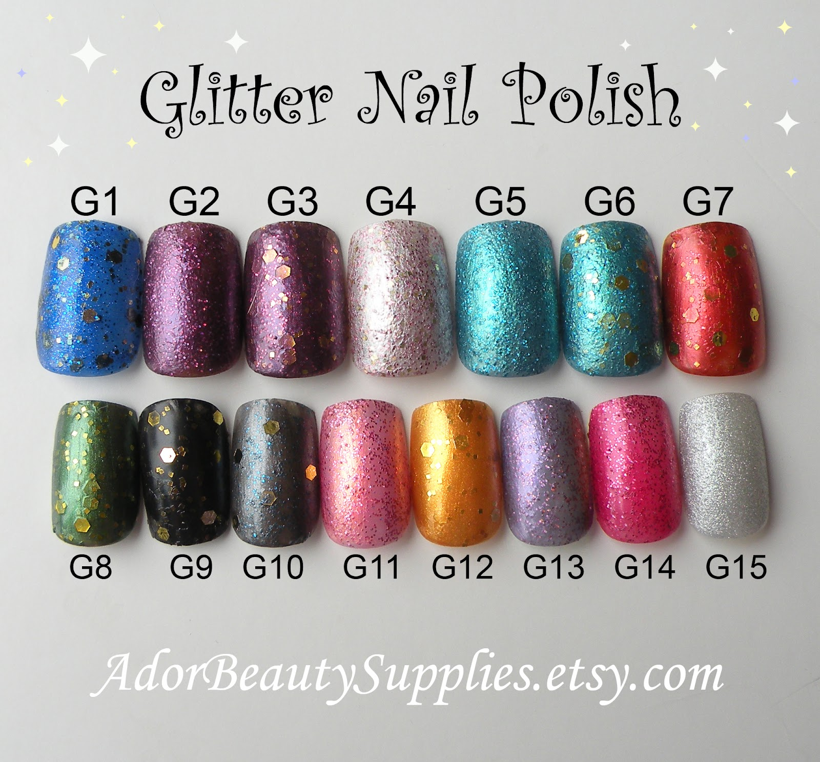 A\'dor Beauty Supplies: Nail Polish - Now Available in the Shop!