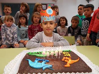 N'Albert ja té 5 anys!!!