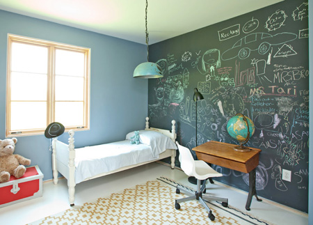 Cottage Blue Designs: Spicing up boy\'s room: Temporary