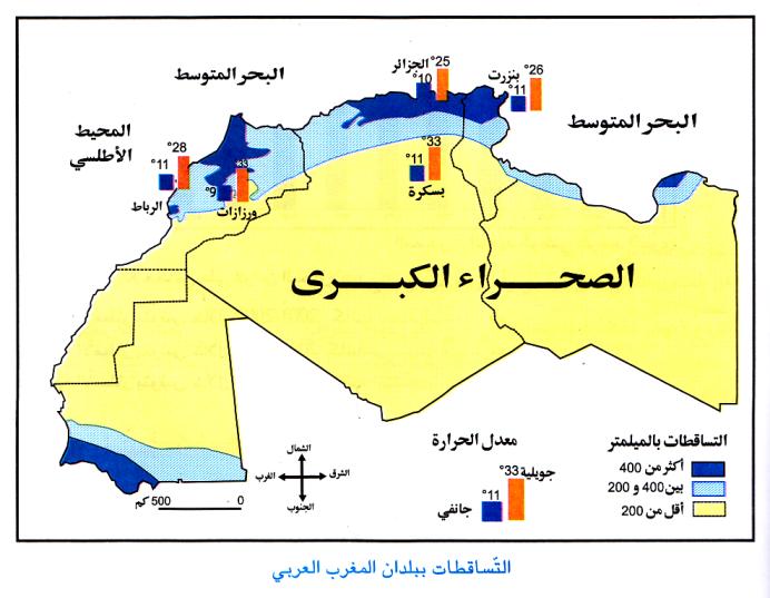 متن ادبی در مورد تابستان بحث عن المغرب العربي الكبير