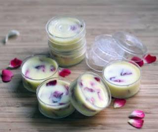 cara membuat lip balm alami sendiri homemade dari madu coklat tanpa beeswax