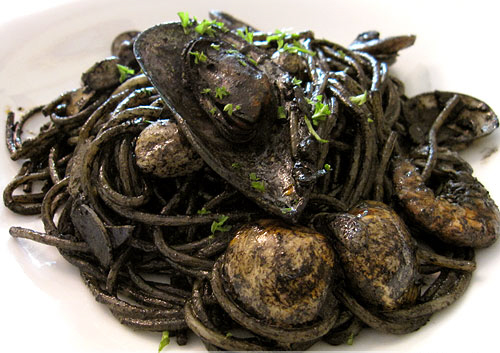 Squid Ink Spaghetti Mille Feuille: My Favo...