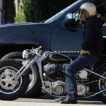 Ewan McGregor celeb on motorcycles