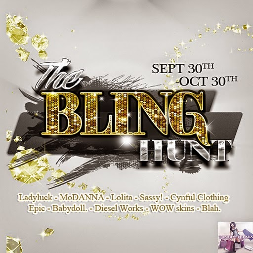 Fashion Freaks Hunt The Bling Hunt! september 30th - october 30th 2014