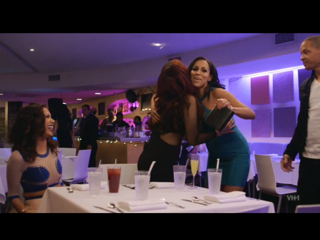 Amina and Peter Gunz double date with Erica Mena and Cyn Santana