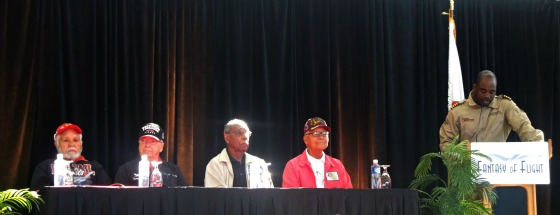 Tuskegee Airmen at the Flight Of Fantasy Symposium