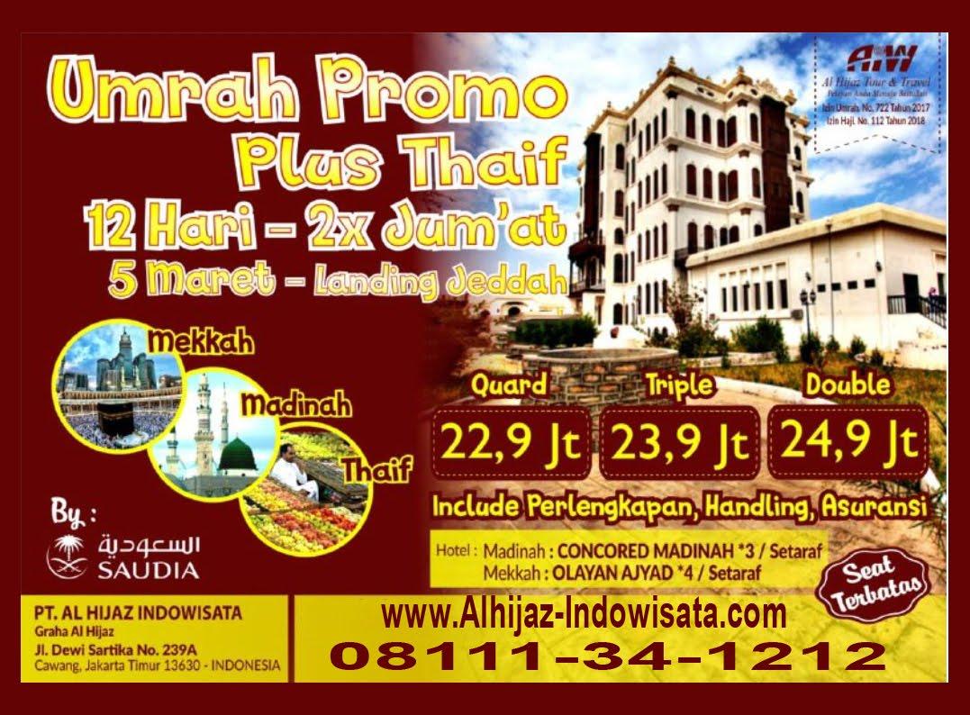 UMROH PLUS THAIF 2019
