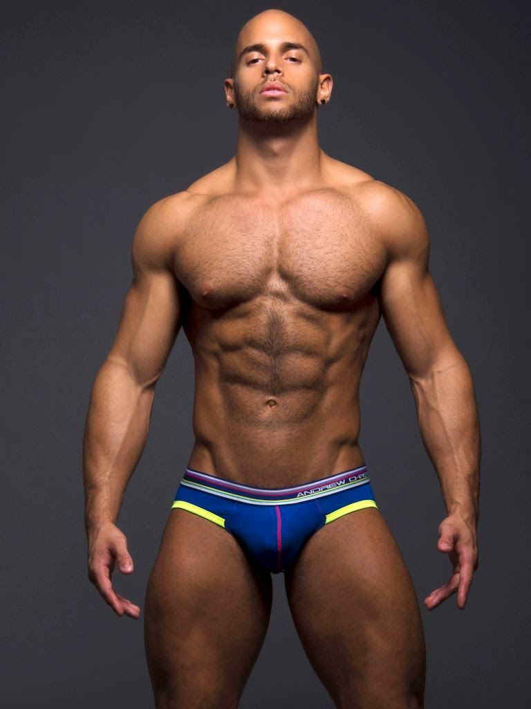 Andrew Christian Retro Pop Sonic Brief Royal Gayrado