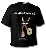 Camiseta Personalizada do Asno - Um Asno