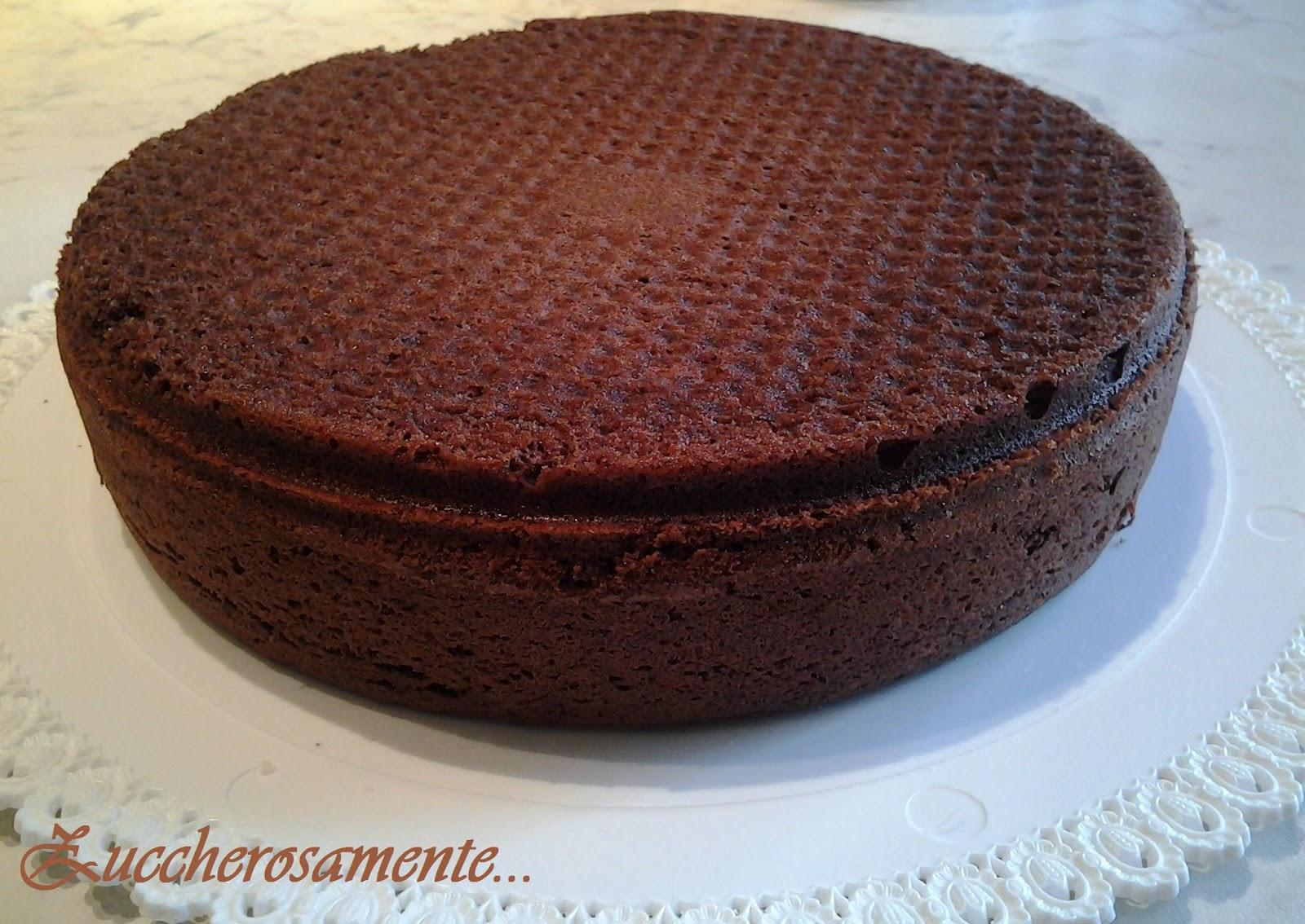 Zuccherosamente...: Pan di Spagna alto al cioccolato