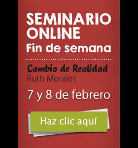 Seminario online fin de semana Cambio de Realidad